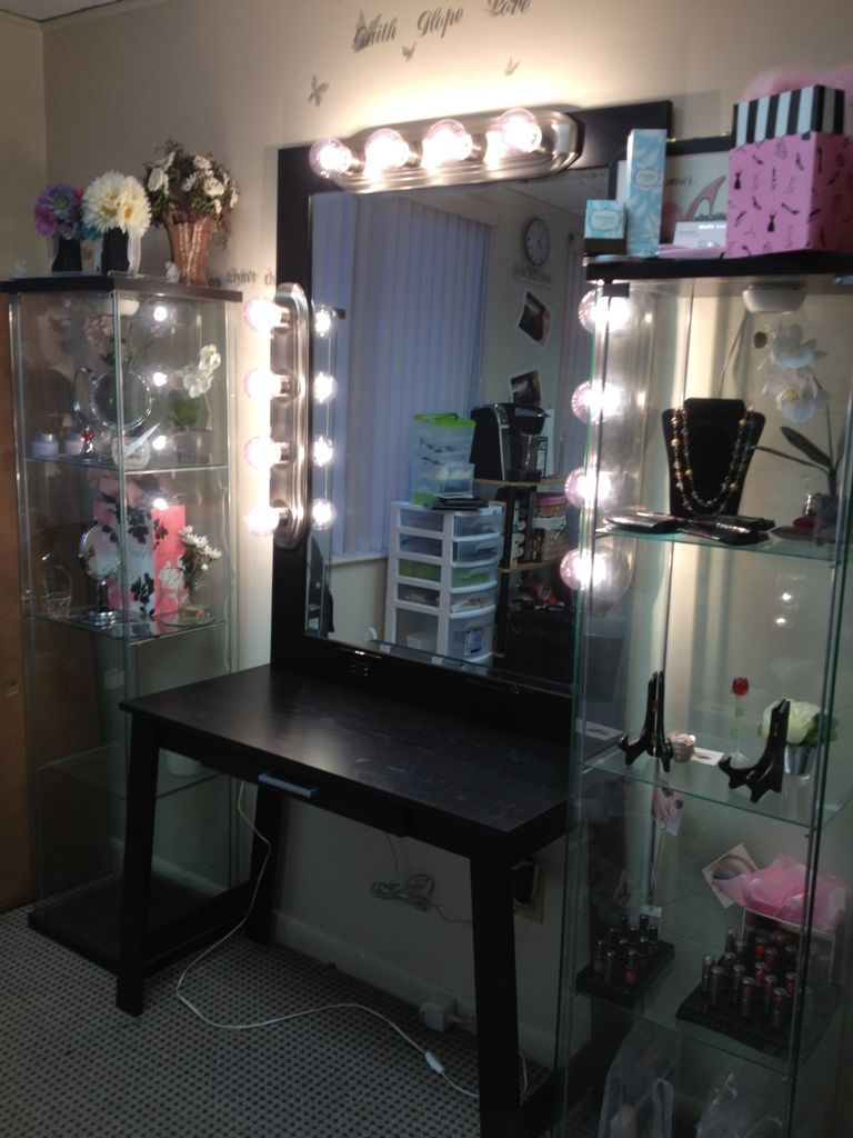 diy vanity | diy makeup vanity, makeup vanities and diy makeup