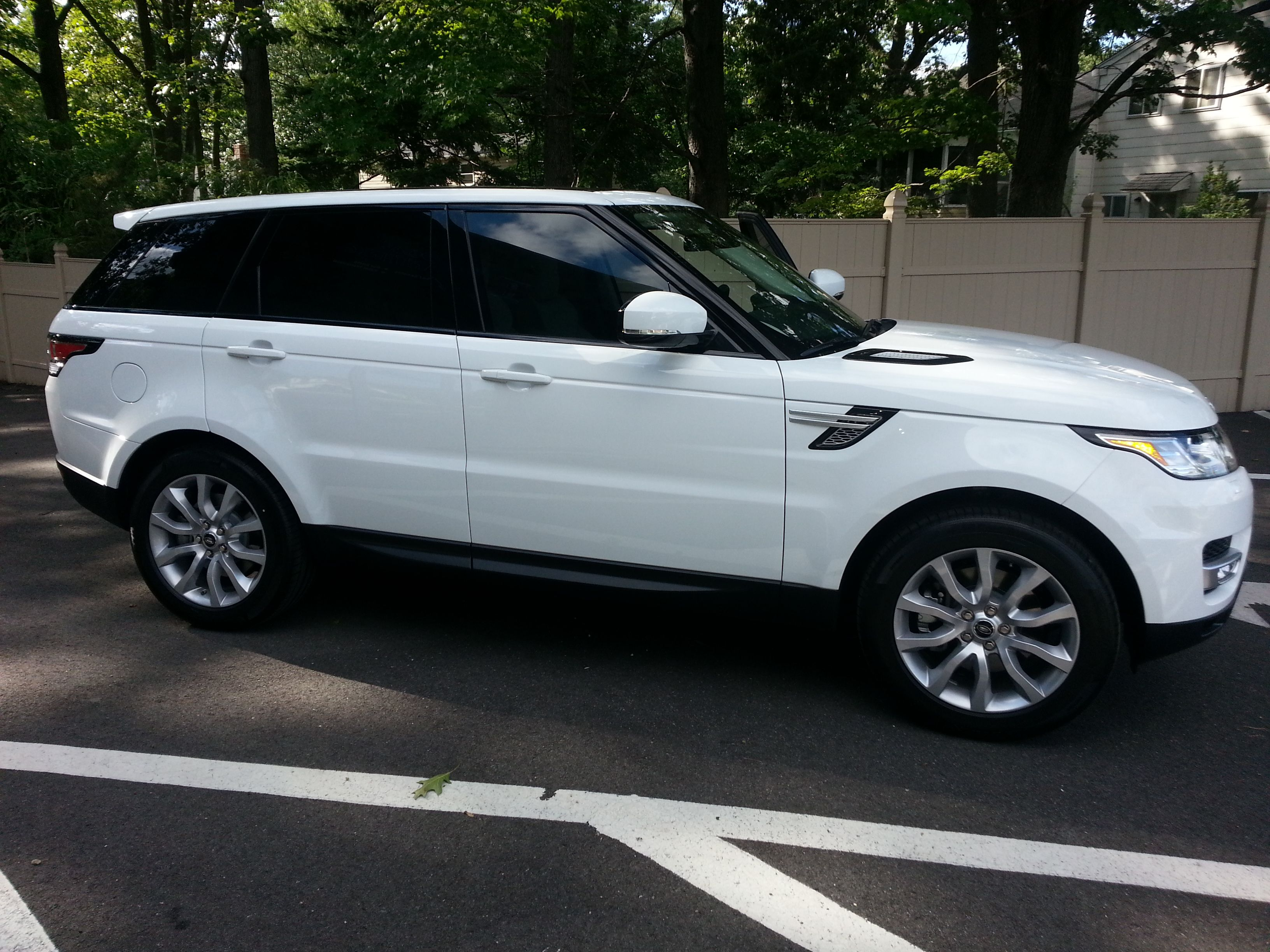 2014 Land Rover Range Rover Suntek Carbon 18 Fronts