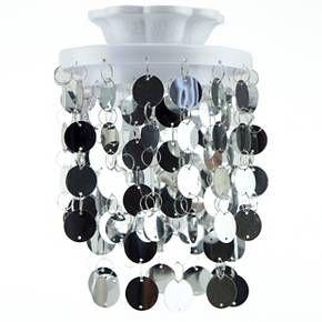 Locker Style Accessories Chandelier Magnetic Silver Target