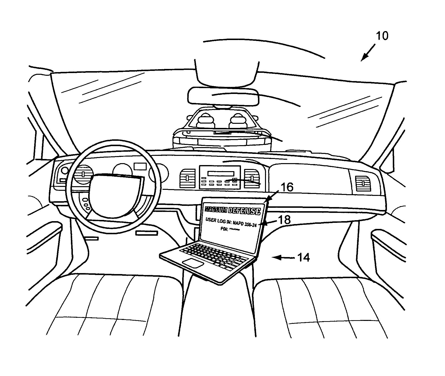 Interior Sketch Car