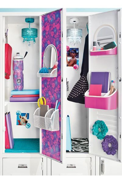 Cute cheap ways to decorate your locker - Cool locker ideas for girls ...