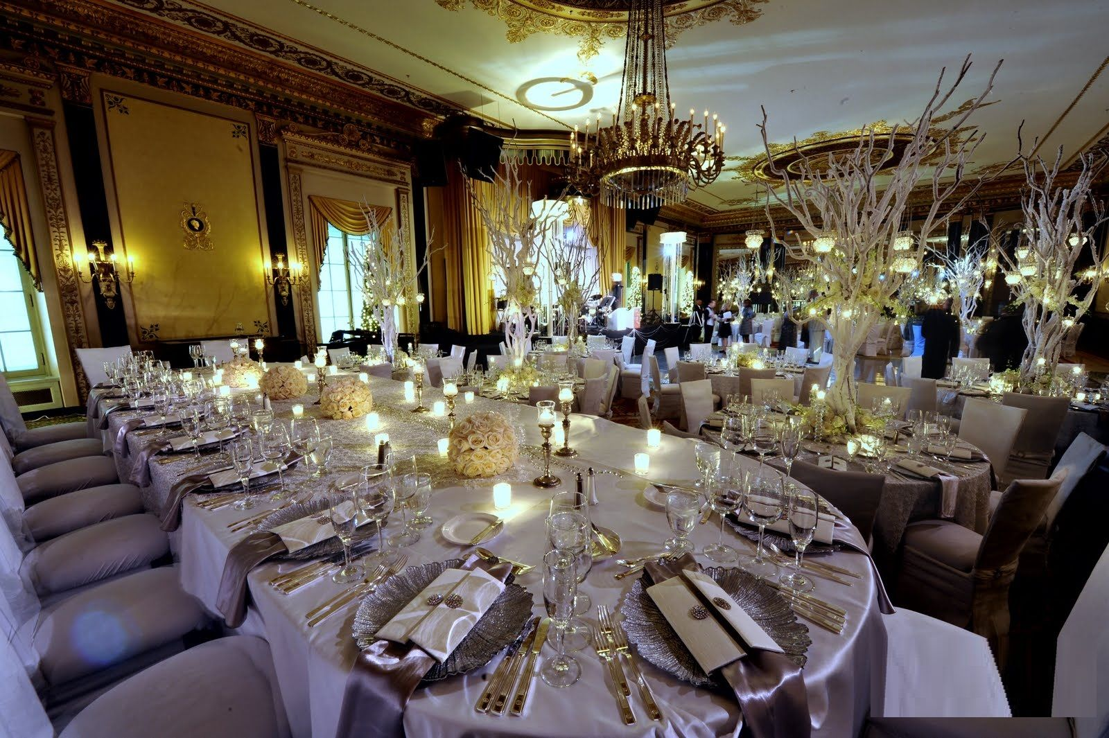 113 Best Christmas Wedding Centerpieces Images On