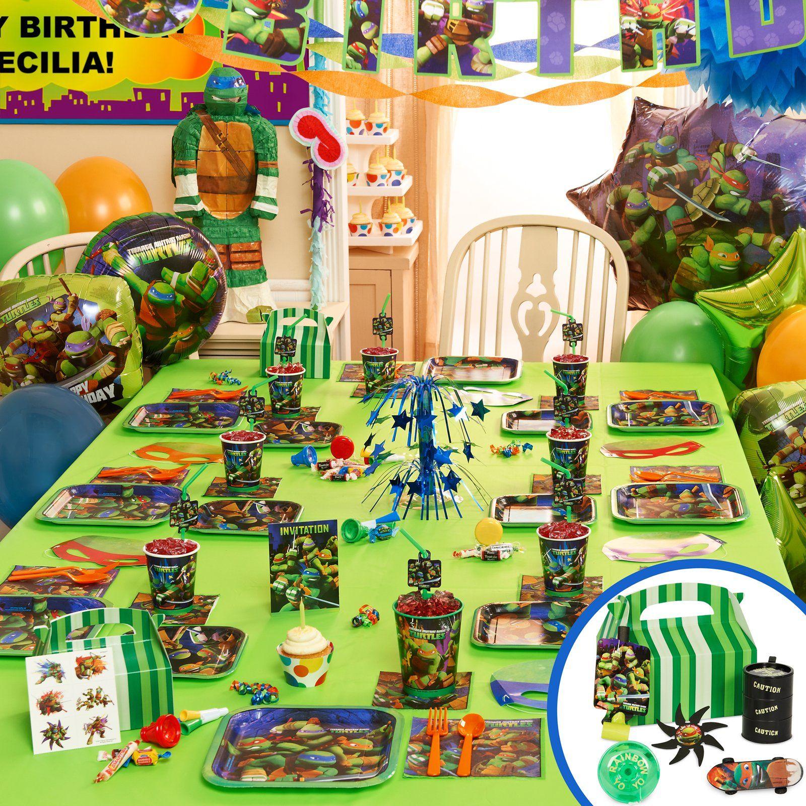 Teenage Mutant Ninja Turtles Party Supplies Ninja
