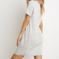 Express marled grey tshirt dress xs can also fit a small or medium