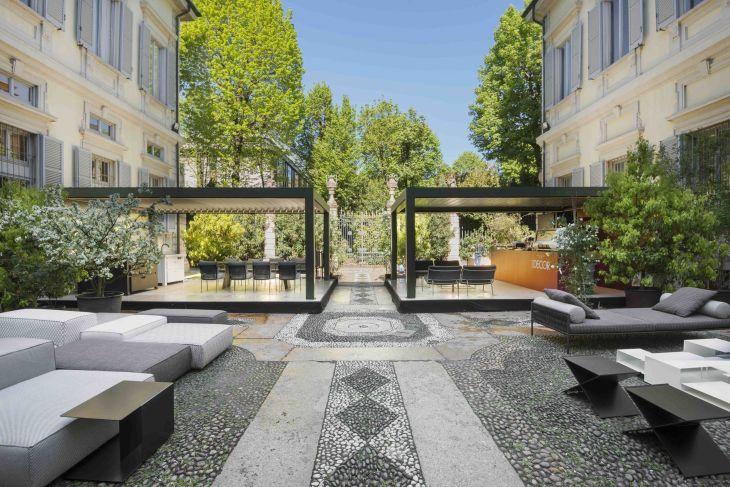 Soft Home outdoor Palazzo Bovara  MODERN GARDEN  Pinterest