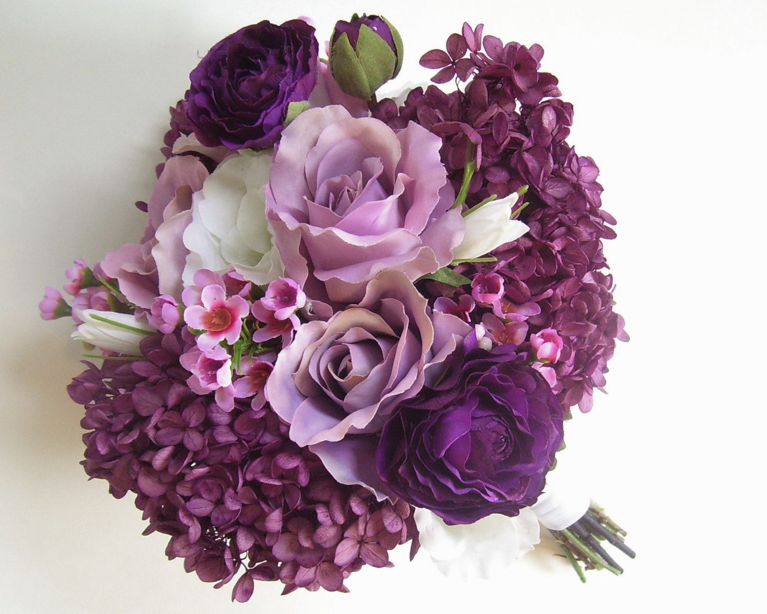 RESERVED For Christinap03, Bridesmaid Wedding Bouquets And