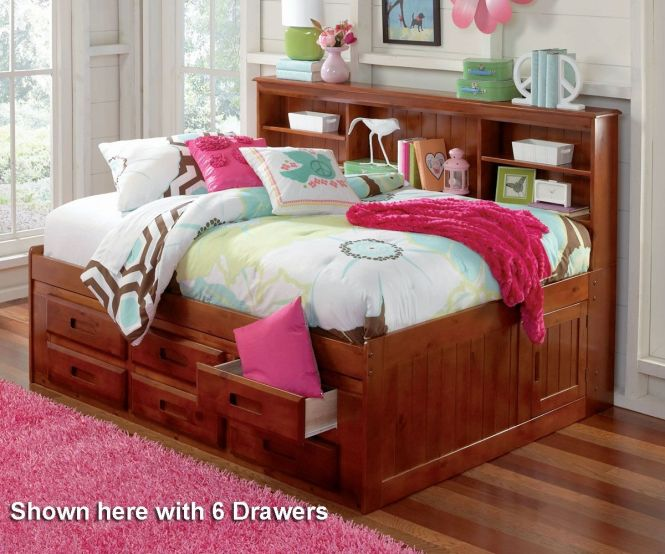 Beautiful Full Size Daybed With Trundle And There Are Bookcase