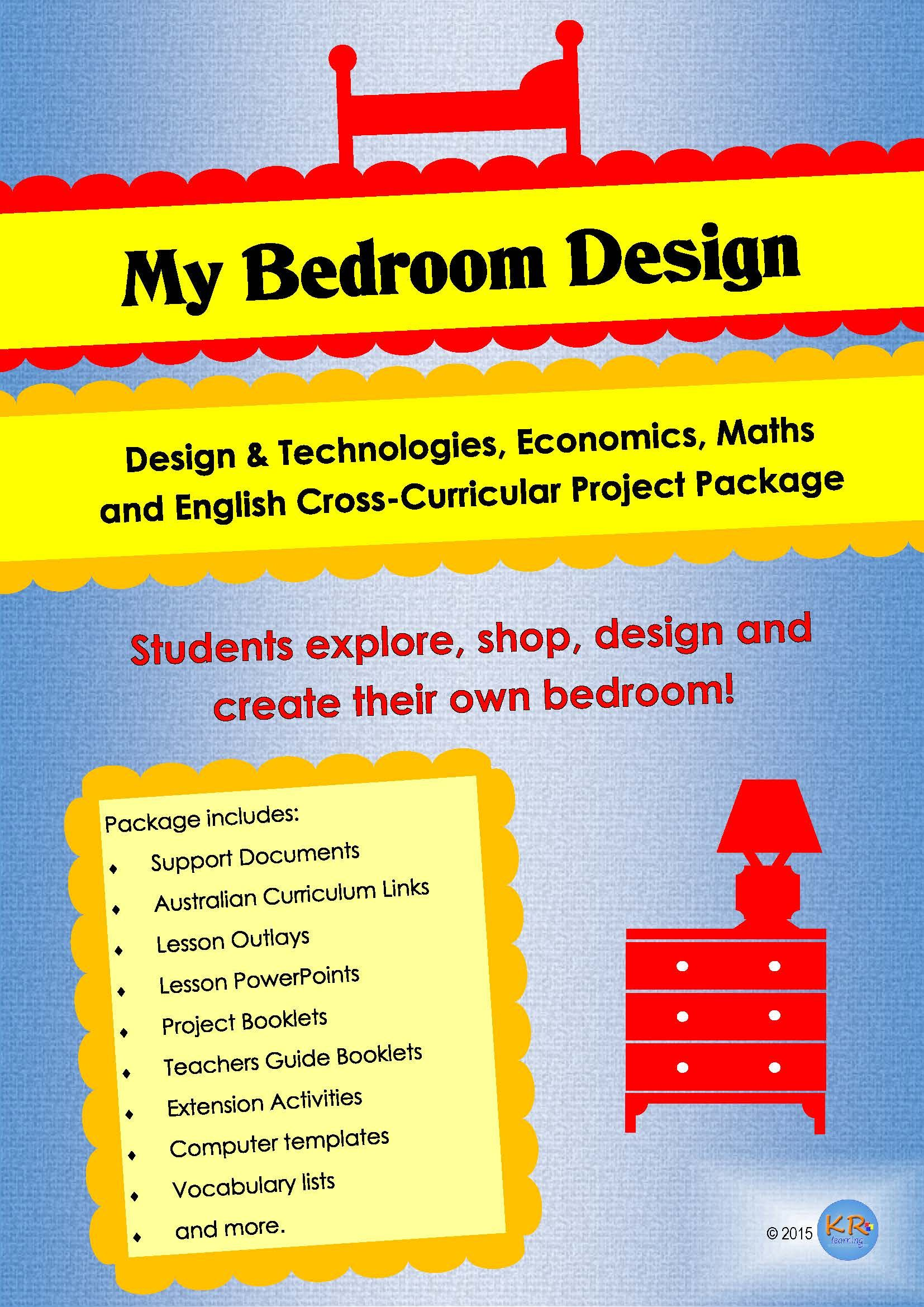 Cross Curricular My Bedroom Design Project Unit Of Work Combining Design Amp Technologies