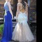 Champagne prom dress blush dresses prom dresses and beautiful