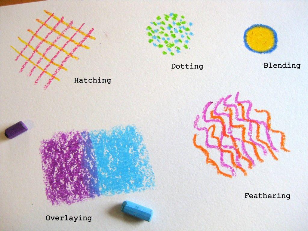 Pastel Techniques Worksheet