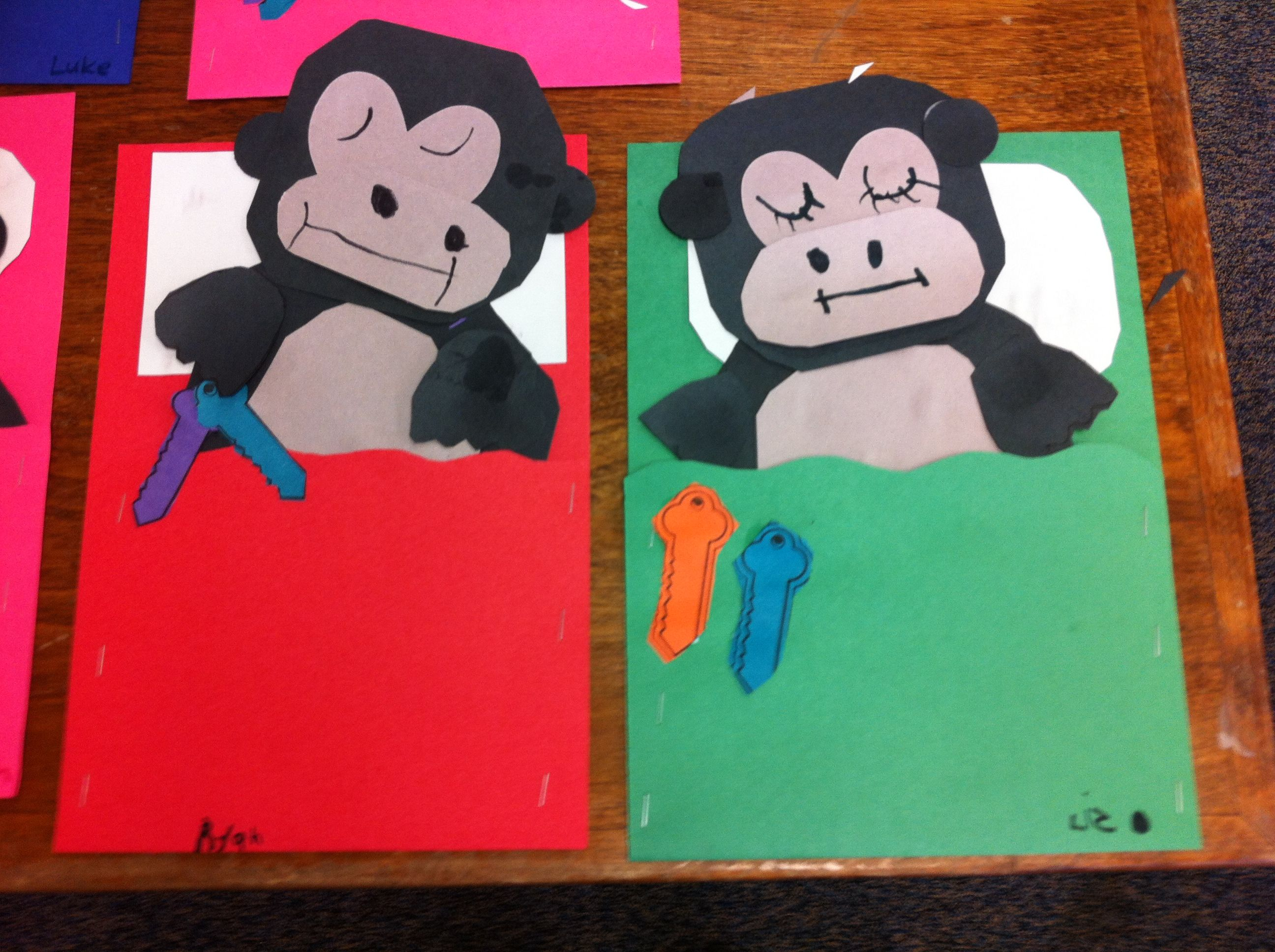 Goodnight Gorilla Craft
