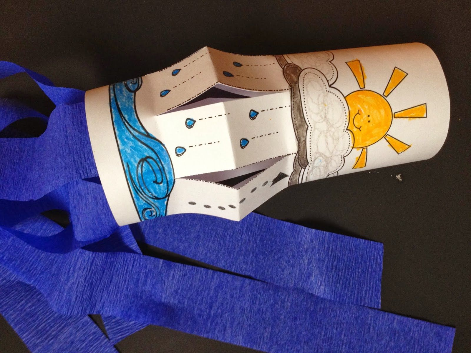 Sweet Tea Classroom Water Cycle Wind Sock Craft For