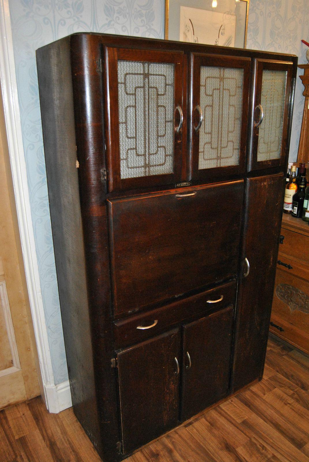 Superb Vintage Retro 1940s 1950s Neatette Combination Kitchen Cupboard Unit EBay 1940