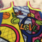 Lucky in love girls graffiti print dress graffiti prints sport