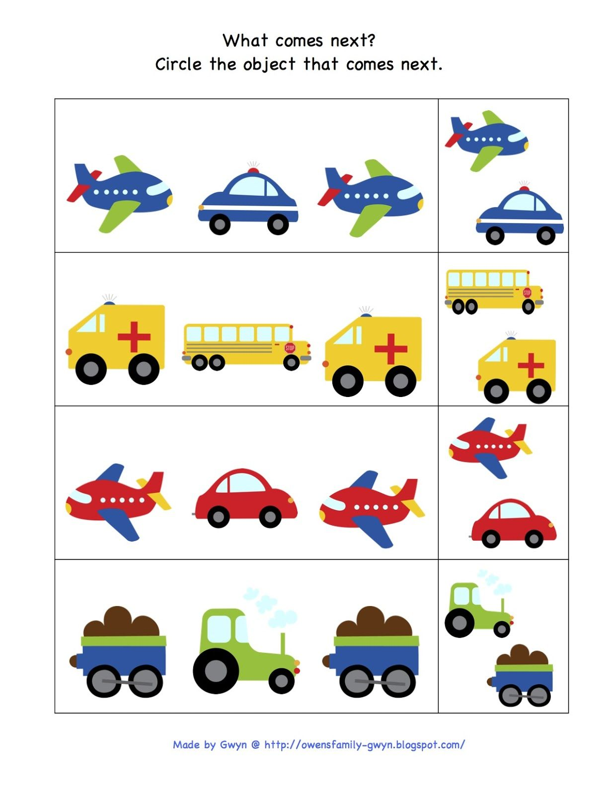 Preschool Printables Trains Planes And Automobiles Printable Garrett S 2nd Birthday