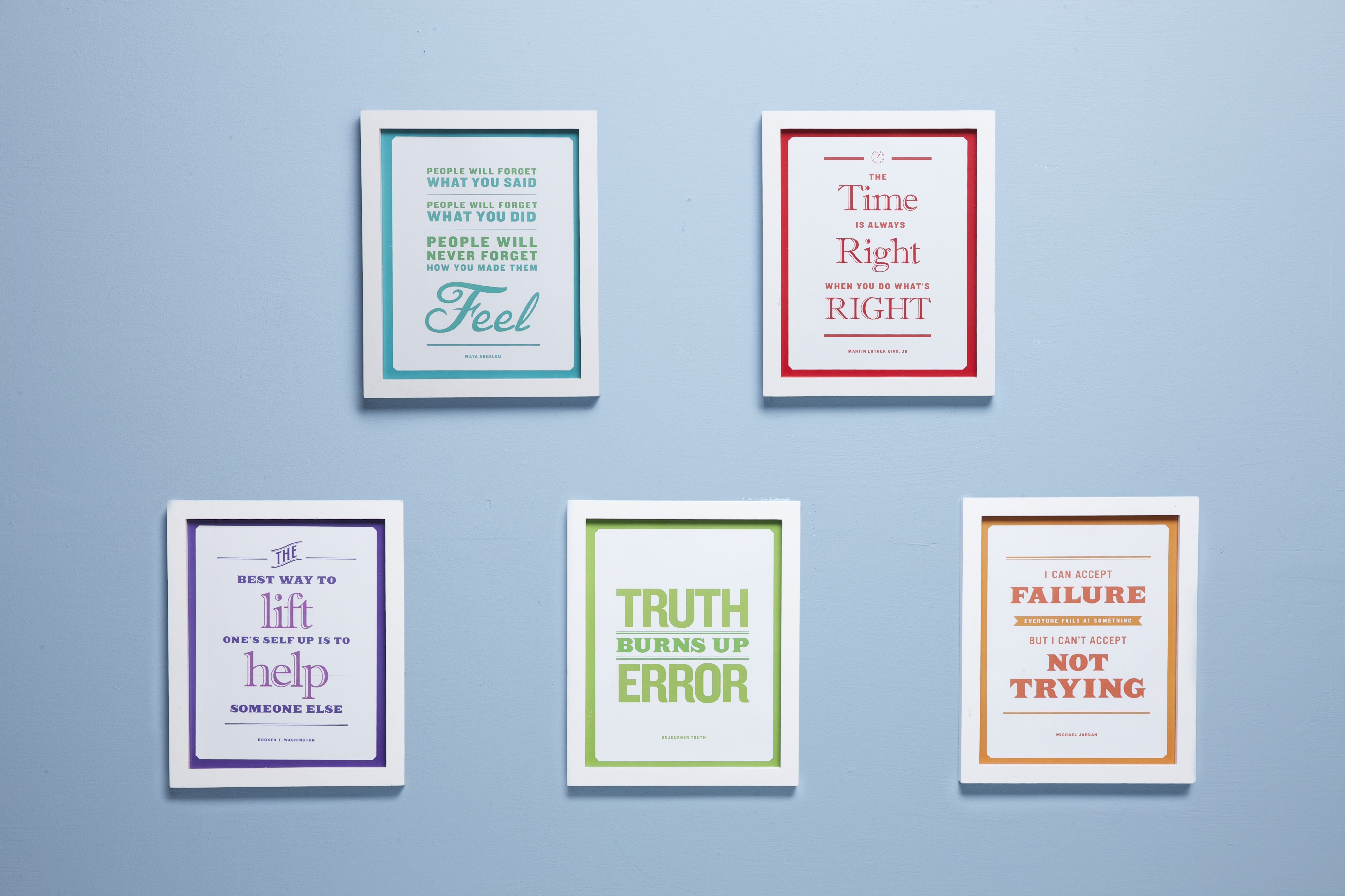 Freebie Mini Posters For Black History Month From Scholastic Quotes From Famous Civil Rights
