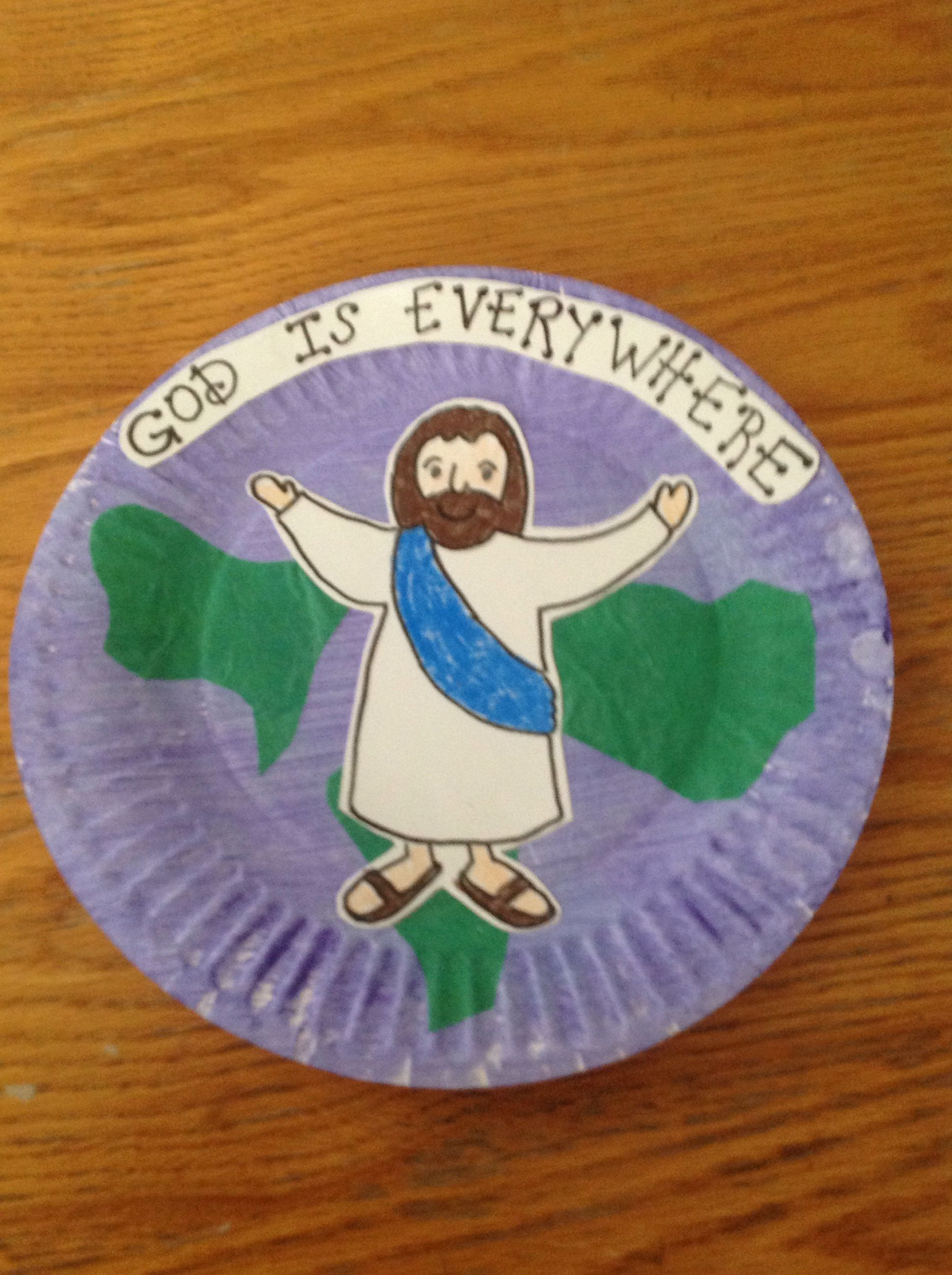 God Is Everywhere Craft