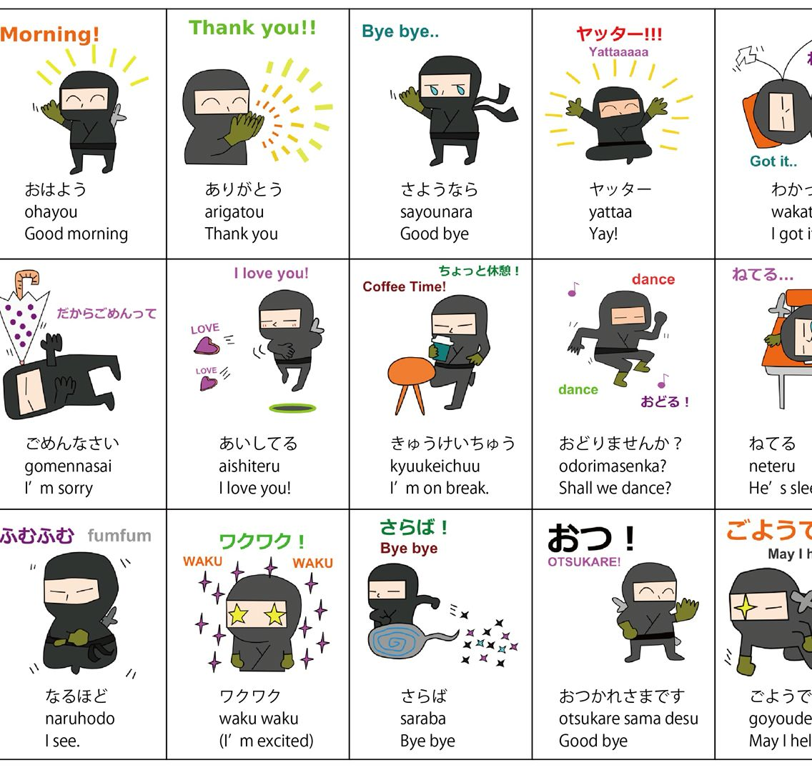 20 Basic Japanese Conversations You Should Learn With Line Stickers