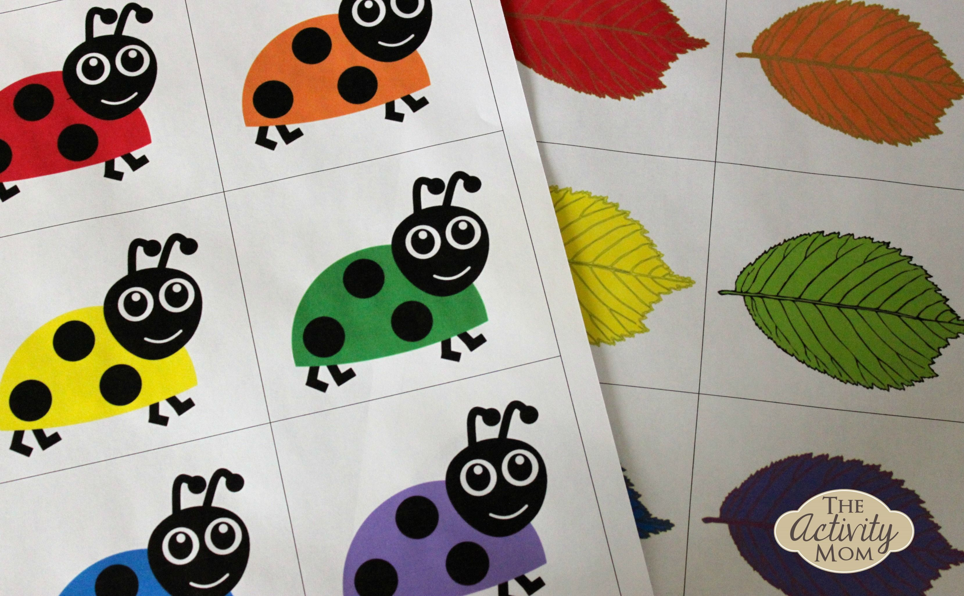 Bug Color Matching Print The Bug Color Matching Document