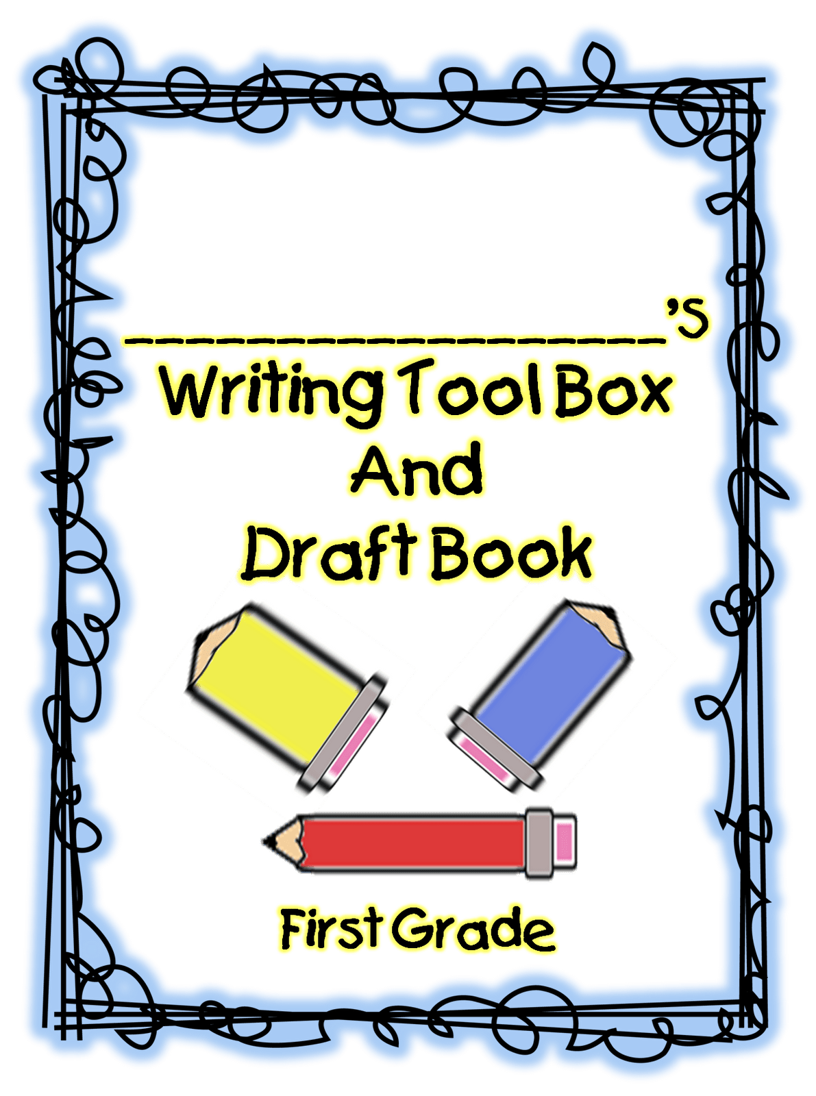 First Grade Wow Writer S Tool Box Free Printable Unit On
