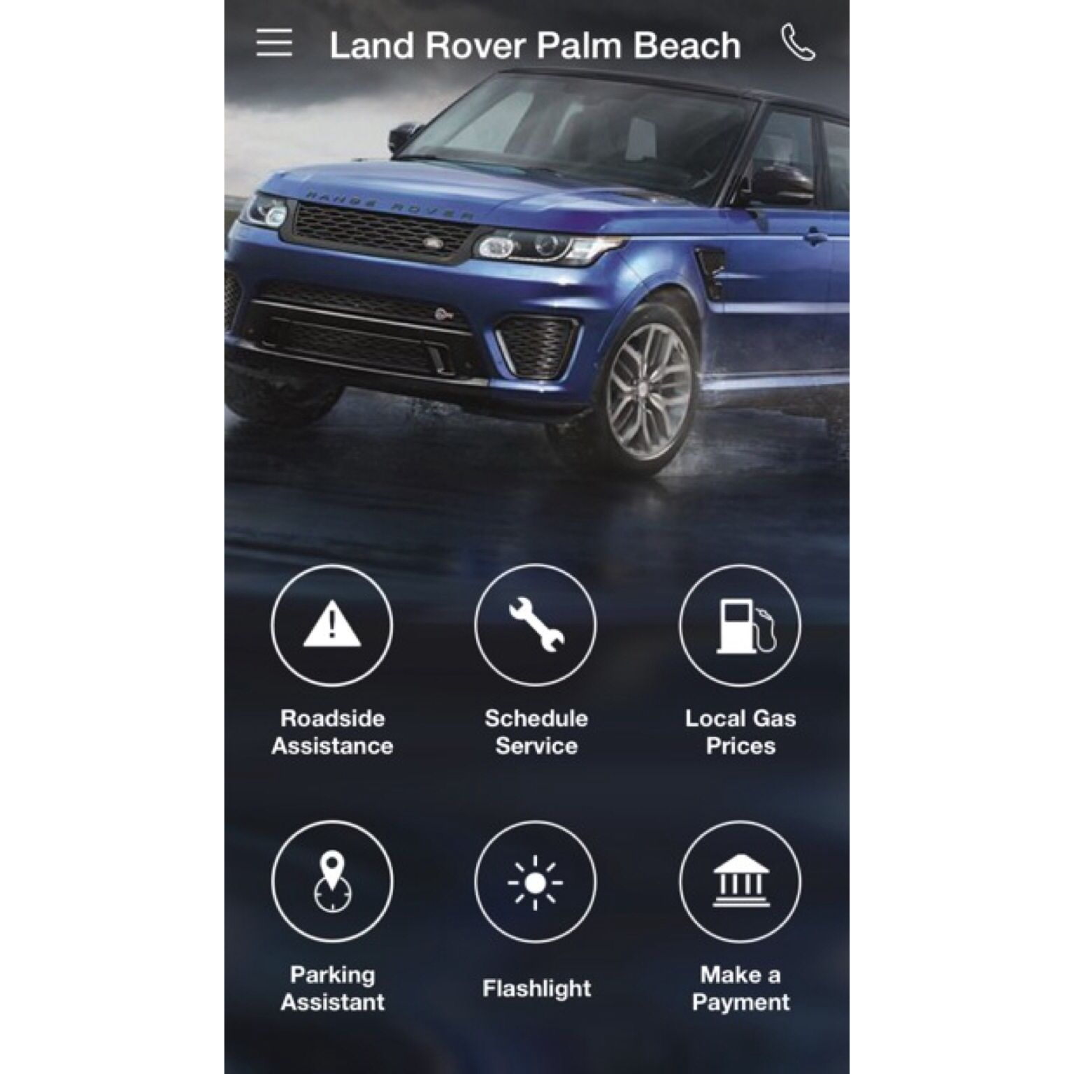 Have an iPhone or Android Check out our Free Land Rover Palm