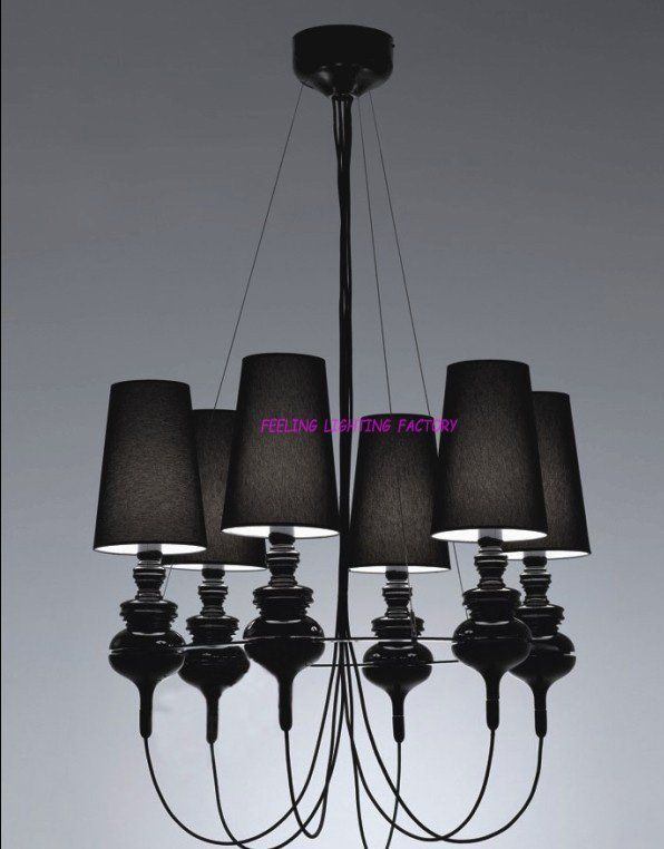 Spain Replica Josephine Queen 6 Chandelier Black Pendant Lamp Pendantlight Lighting Http