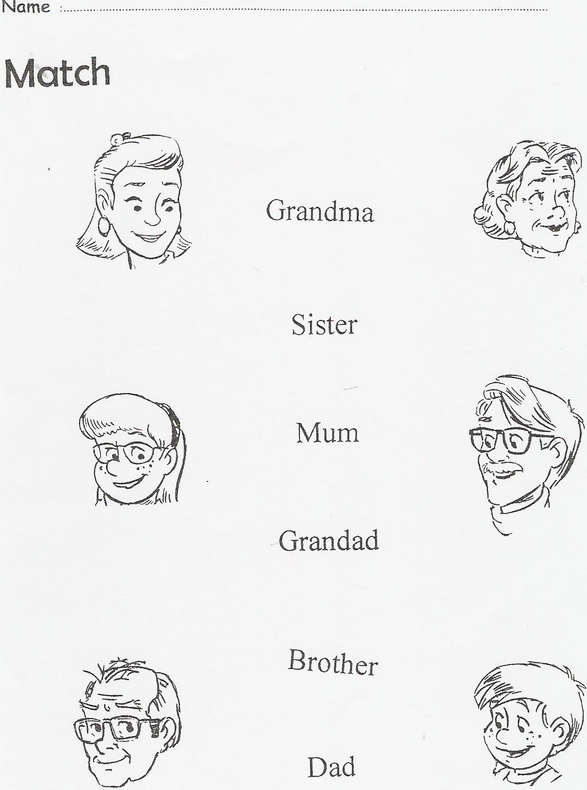Worksheet La Familia Worksheets Worksheet Fun Worksheet