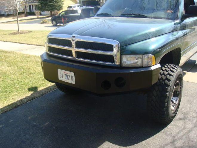 Dodge ram bumper kits plans aftermarket winch bumpers