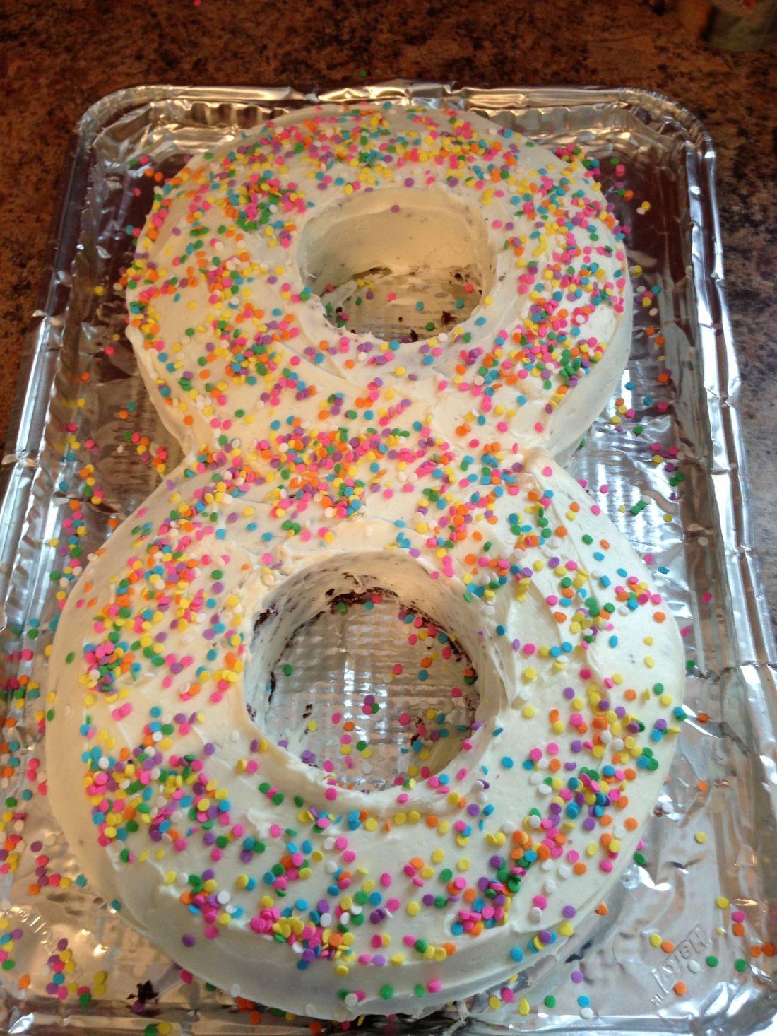Eight year old birthday cake party ideas pinterest