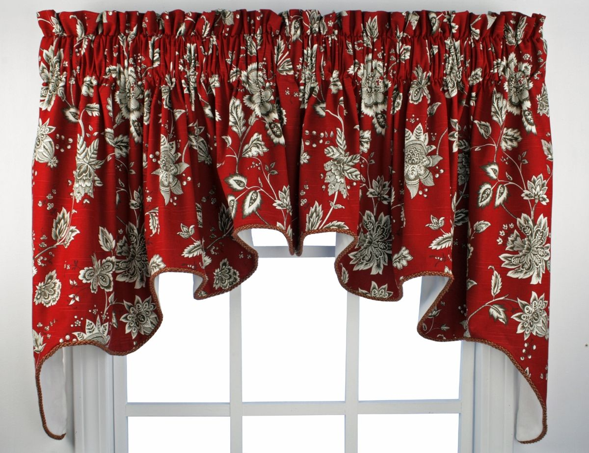 Kitchen Window Valances French Country Choosing
