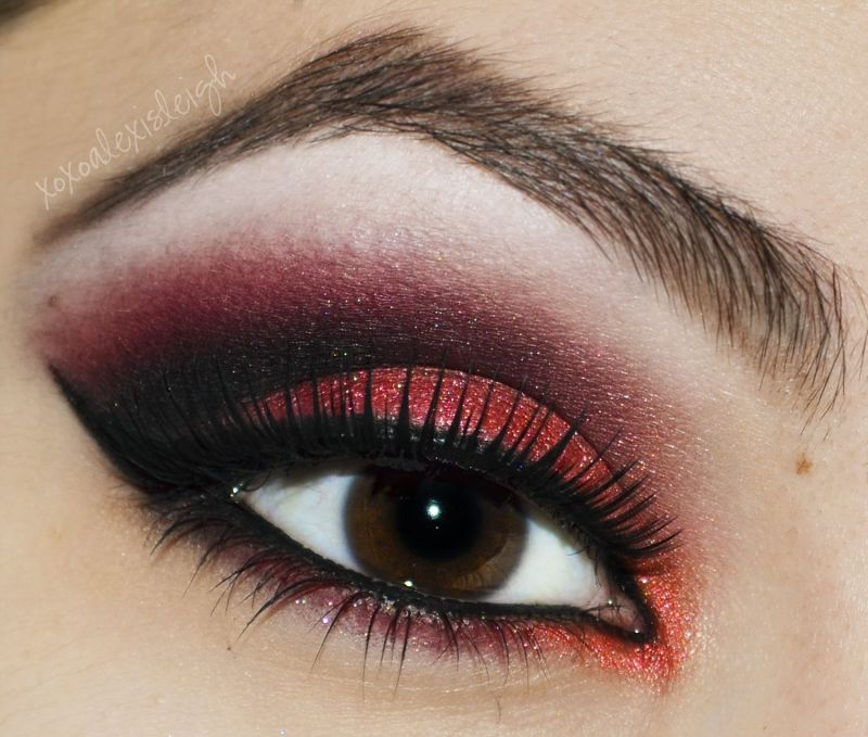 Red And Black Eye Makeup Ideas Makeupview