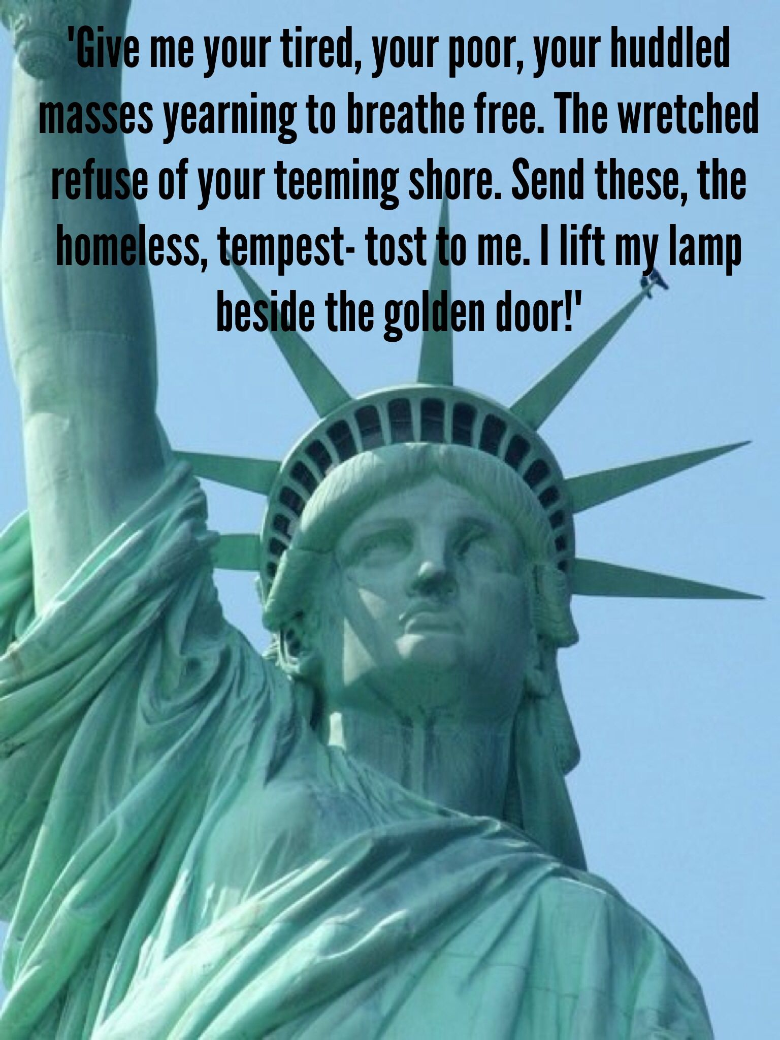 Poem At The Base Of The Statue Of Liberty By Emma Lazarus