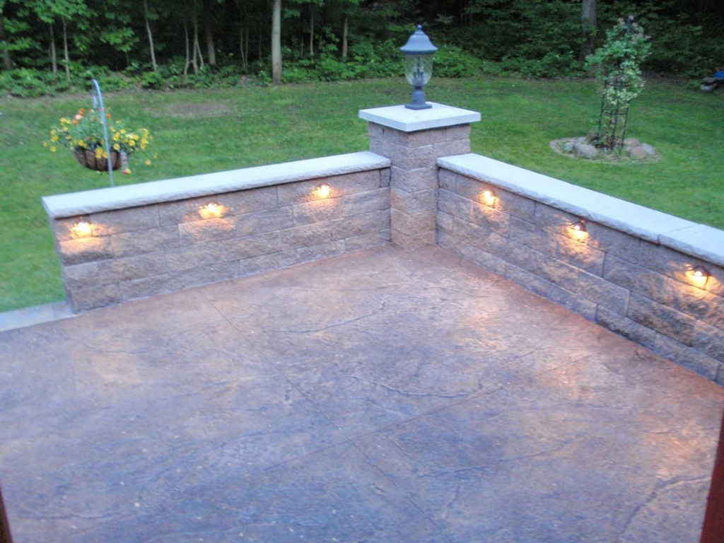 Stone Knee Wall for Patio   Retaining Wall-image-2 ... on Patio Stone Wall Ideas id=74736