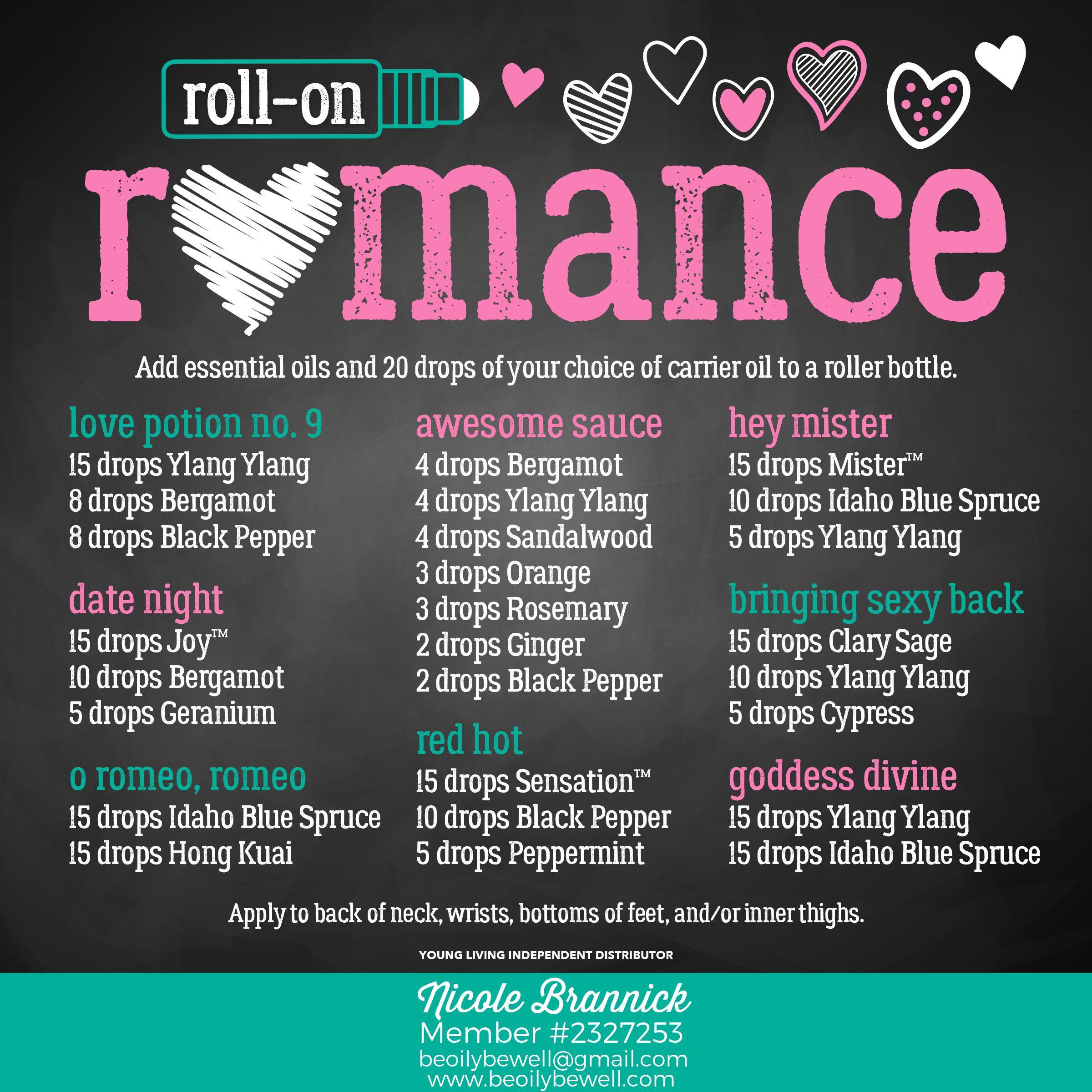 Roll On Romance Recipes