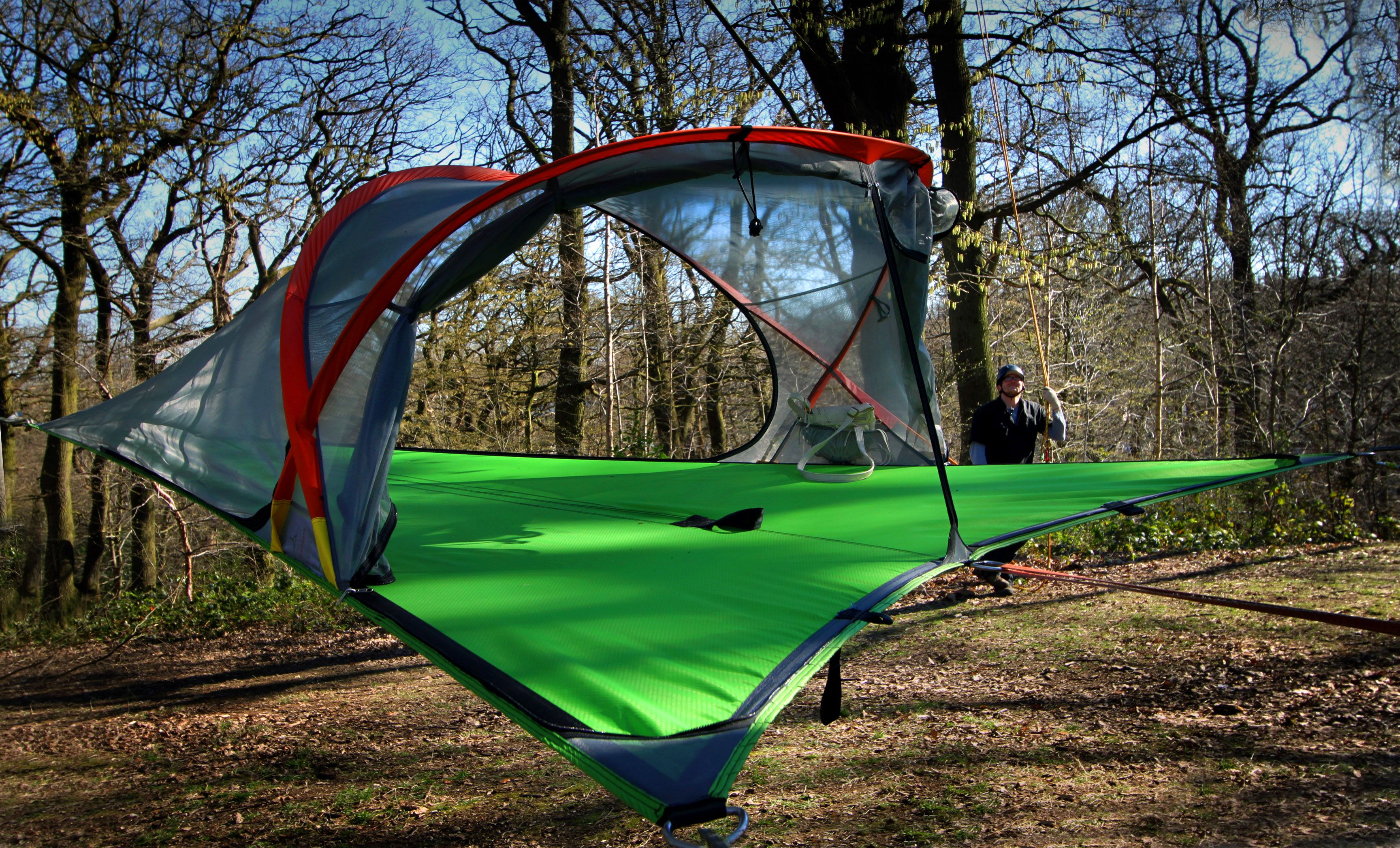 Hammock And Tent Combined Into One In Stock