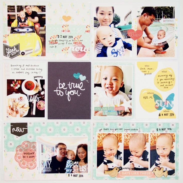 Citrus Twist Kits Pocket life with Sam Project life Pinterest