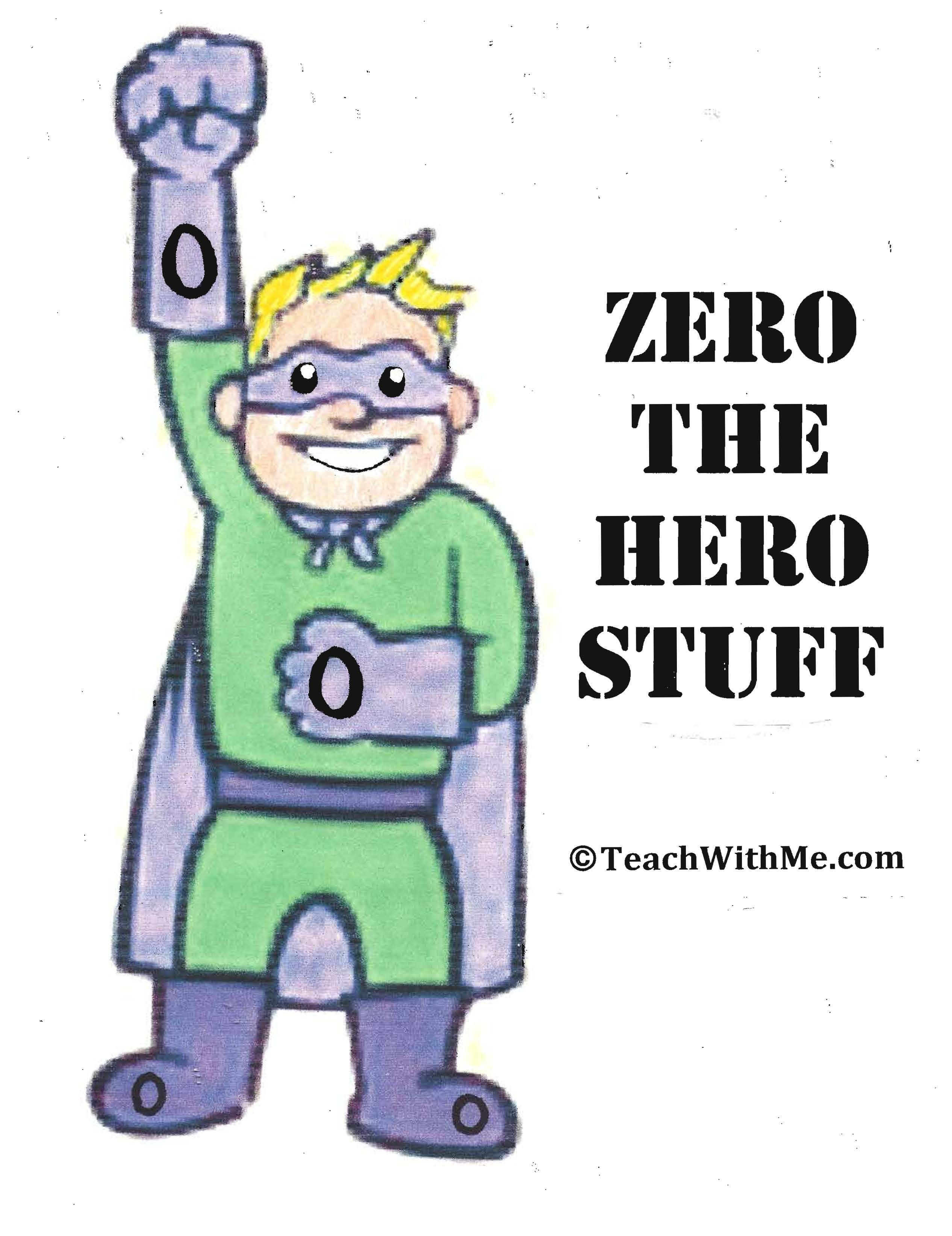 170 Page Free Counting Up To 100 Day Packet Of Zero The
