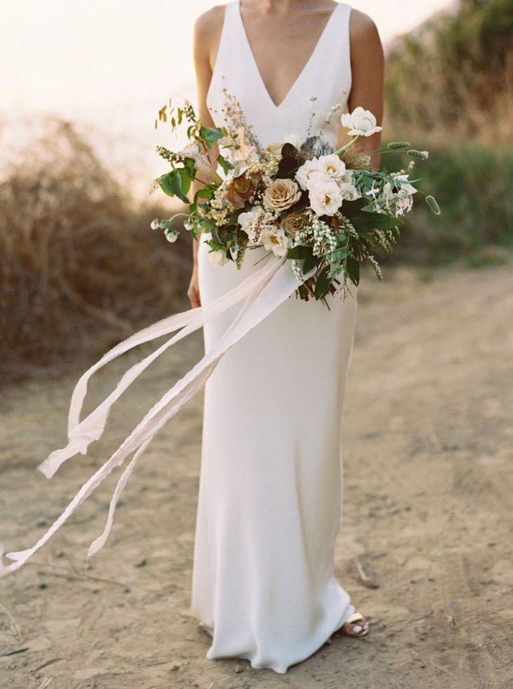 Rustic Organic Florals Holly u Nickus Big Sur Wedding Wedding