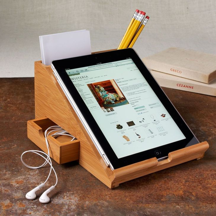 iPad Station would be awesome for the kitchen Caitlin Leavitt