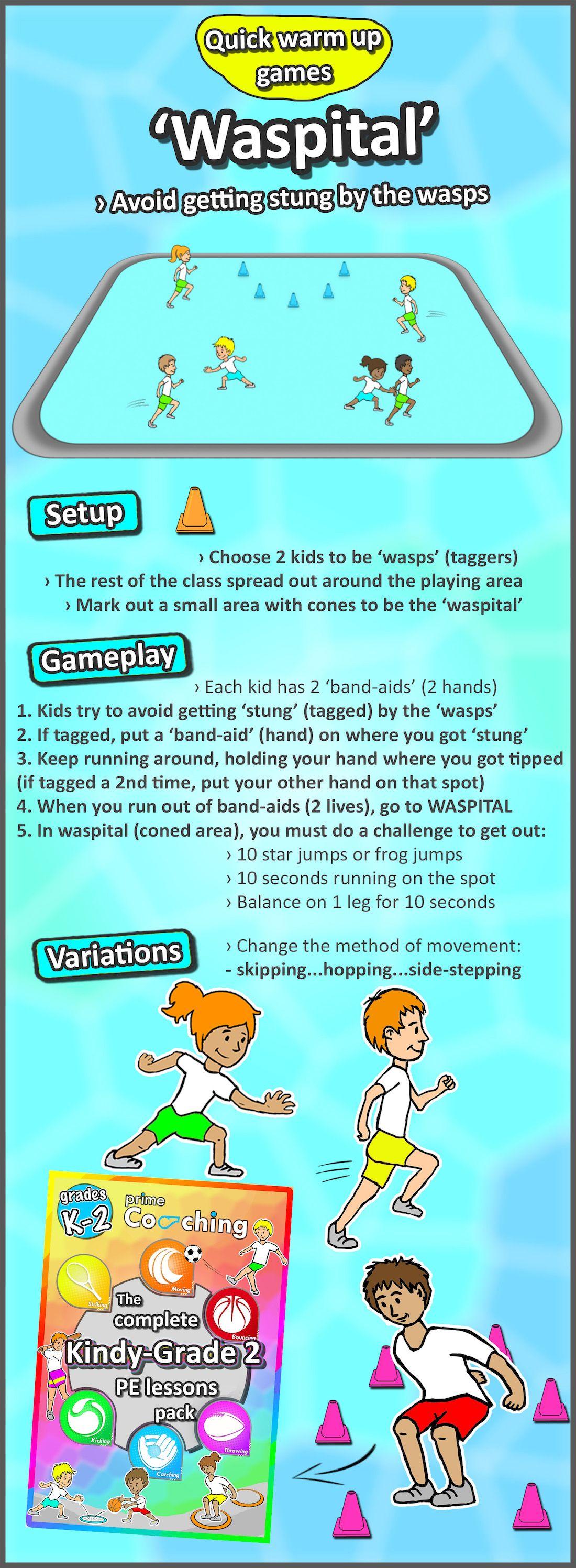6 Free Kindergarten Grade 2 Pe Sport Lesson Tip Amp Tag