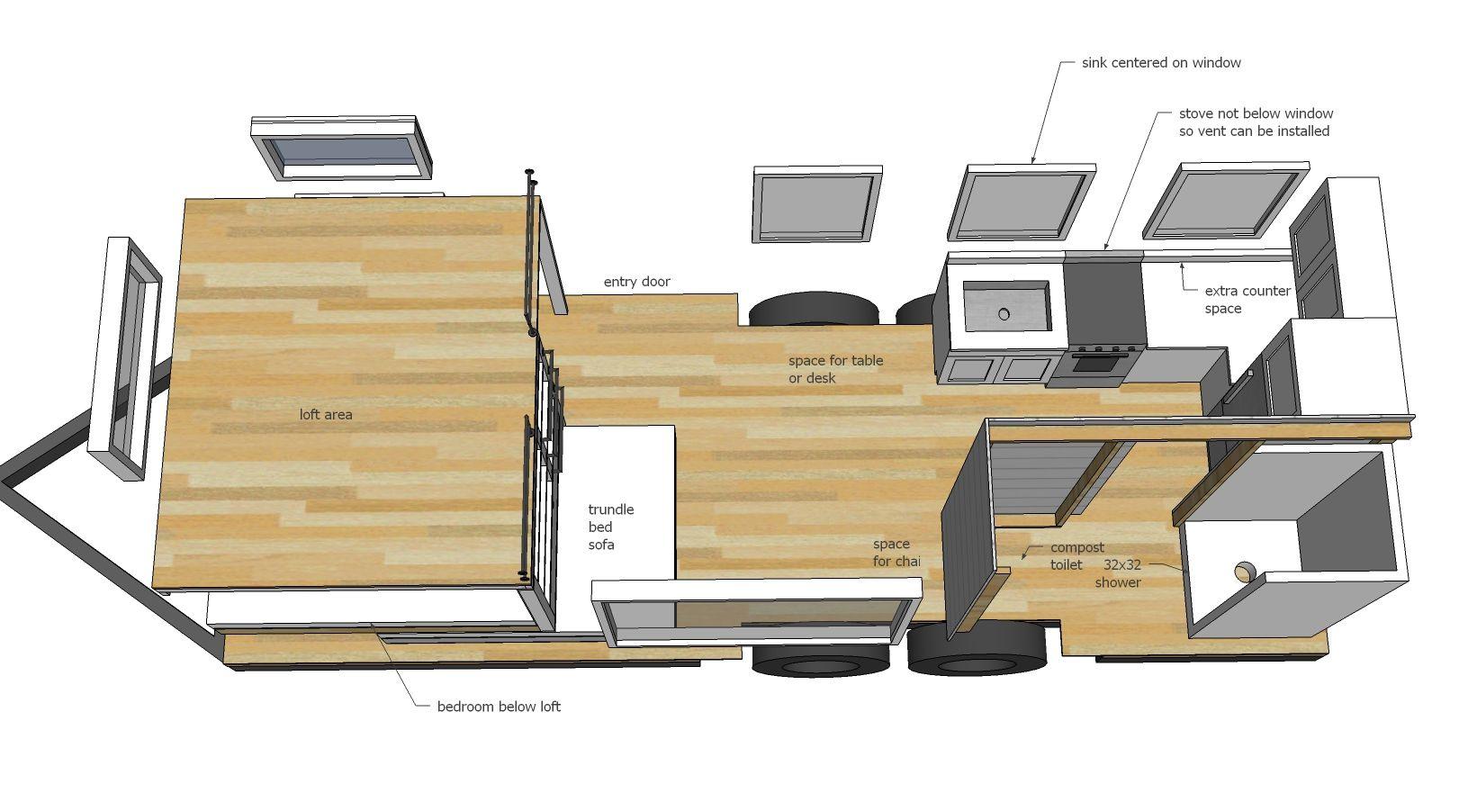 Ana White Build A Quartz Tiny House