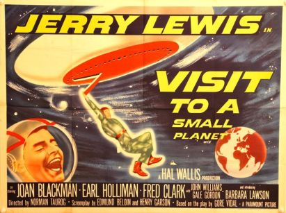 Image result for visit to a small planet 1960