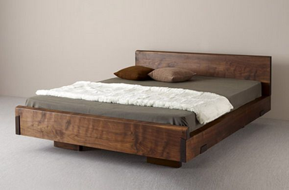 Natural Wood Beds By Ign Design Rustic Knotty