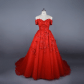 know more real photo arabic vintage red ball gown puffy