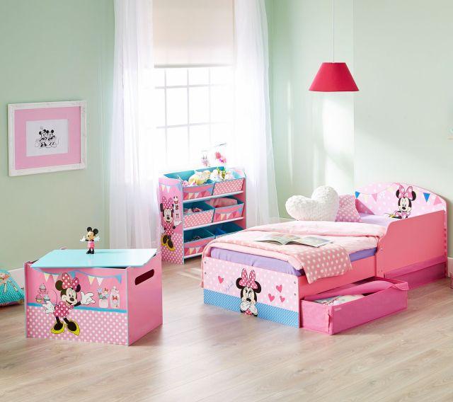 Cama para ni±as Minnie Mouse un dormitorio infantil Disney