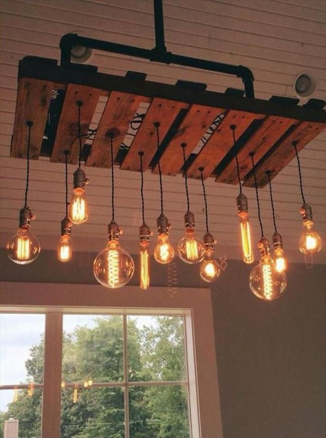 Pallet Projects And Ideas 125 Awesome Diy Furniture Including A Light Feature Using Lighting Ideaspipe