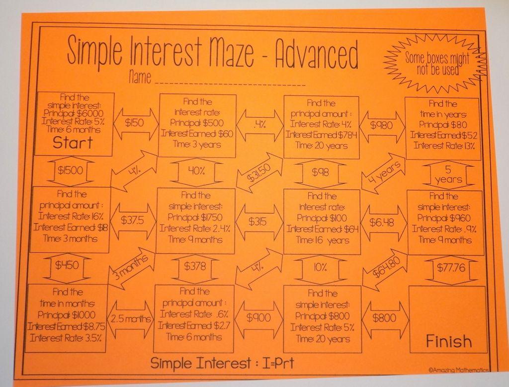 Worksheet Compound Interest Practice Worksheet Grass