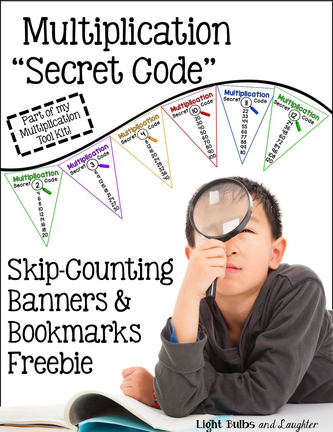 Unlocking The Secret Code Of Multiplication Memorization Light Bulbs And Laughter