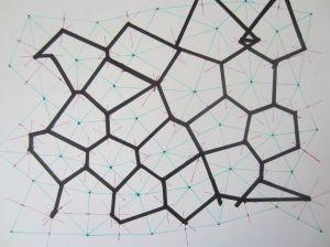HandDrawn Voronoi Diagrams | Voronoi diagram, Parametric