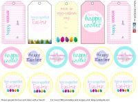 Free easter gift tag template merry christmas and happy new year free easter gift tag template negle Choice Image
